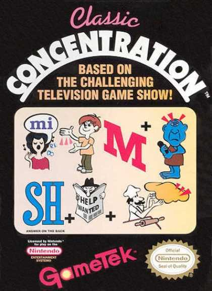 NES Games - Classic Concentration