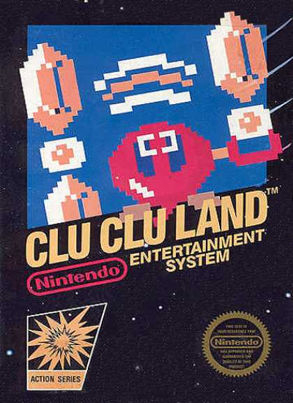 NES Games - Clu Clu Land
