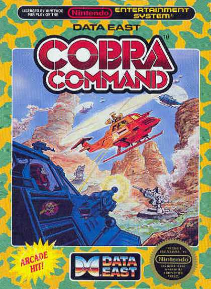 NES Games - Cobra Command