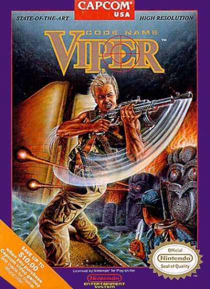 NES Games - Code Name Viper