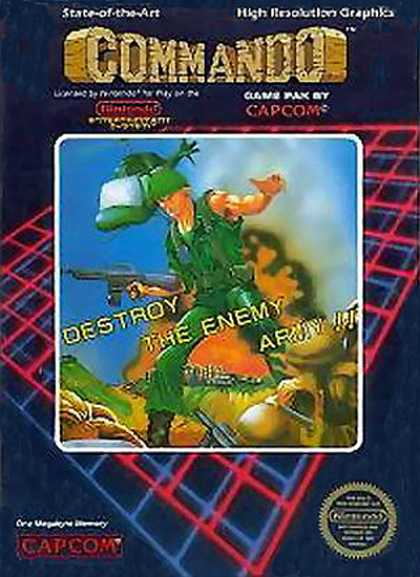 NES Games - Commando
