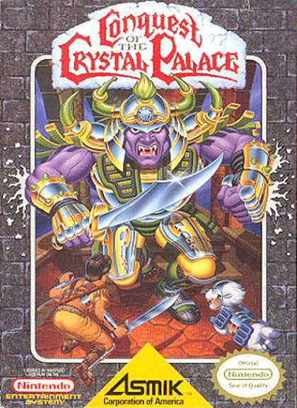 NES Games - Conquest of the Crystal Palace