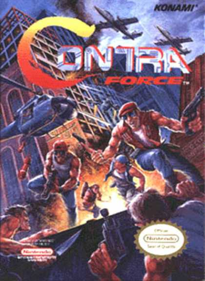 NES Games - Contra Force