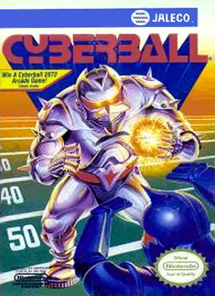 NES Games - Cyberball - Jaleco
