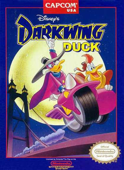 NES Games - Darkwing Duck