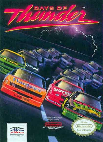 NES Games - Days of Thunder