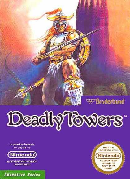 NES Games - Deadly Towers