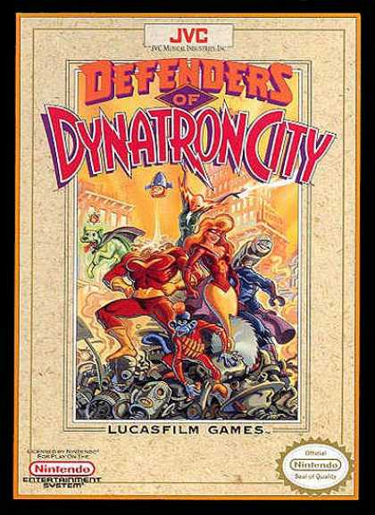 NES Games - Defenders of Dynatron City