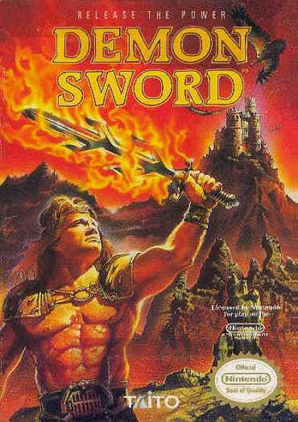 NES Games - Demon Sword