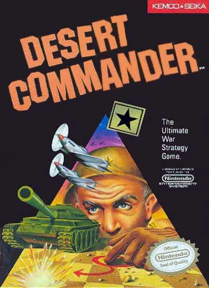 NES Games - Desert Commander
