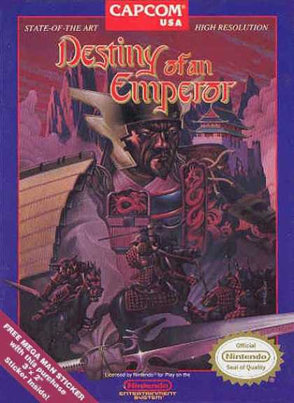 NES Games - Destiny of an Emperor