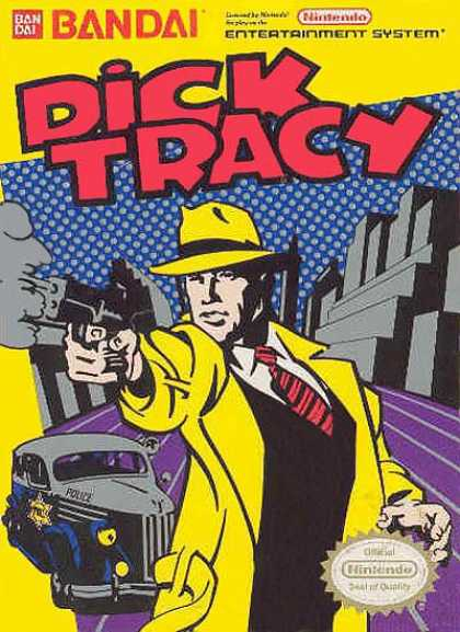 NES Games - Dick Tracy