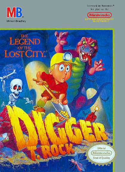 NES Games - Digger T Rock