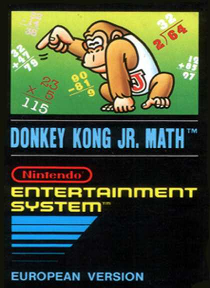 NES Games - Donkey Kong Jr Math E