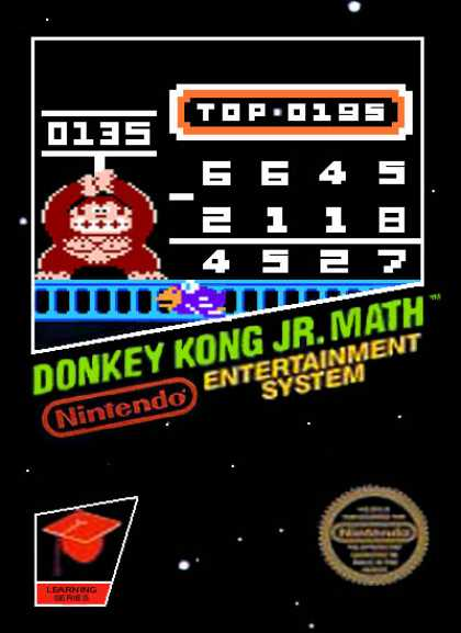 NES Games - Donkey Kong Jr Math