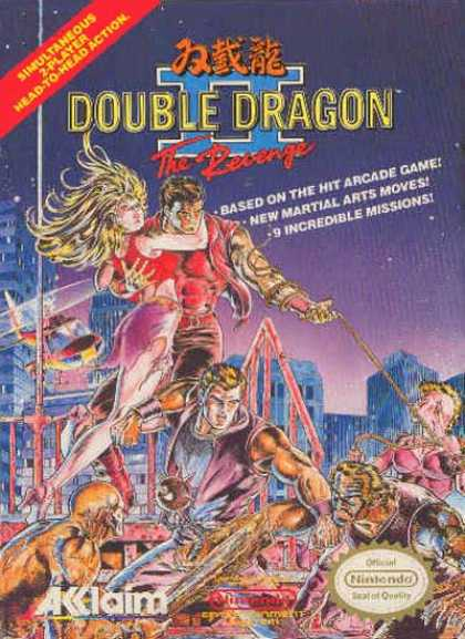 NES Games - Double Dragon 2