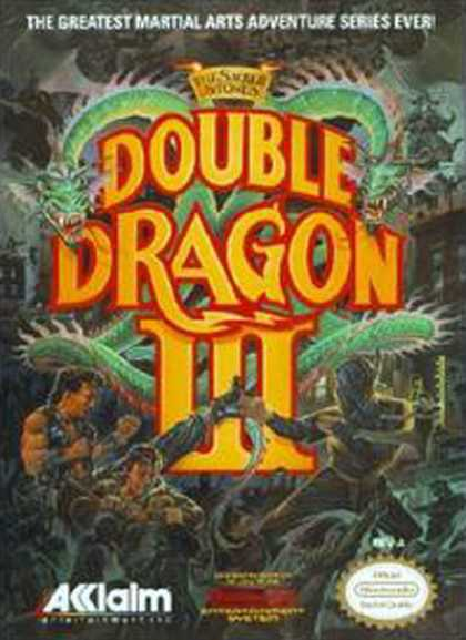 NES Games - Double Dragon 3