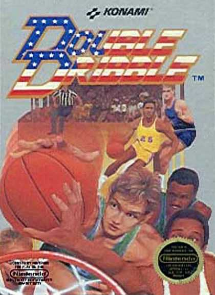 NES Games - Double Dribble