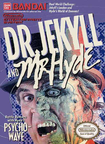 NES Games - Dr. Jekyll 'n Mr Hyde