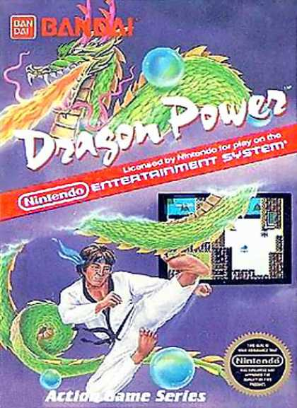 NES Games - Dragon Power