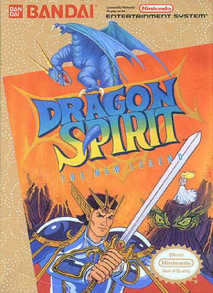 NES Games - Dragon Spirit