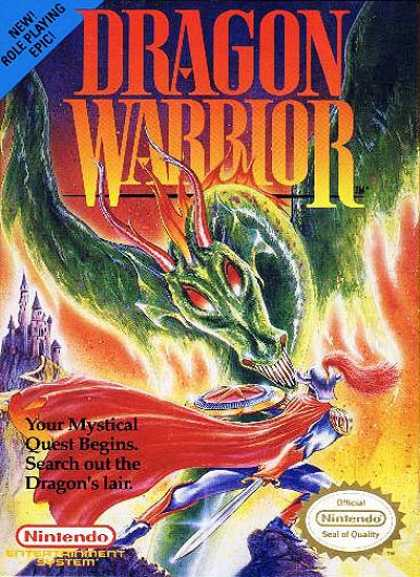 NES Games - Dragon Warrior 1