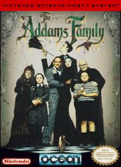NES Games - Addams Family