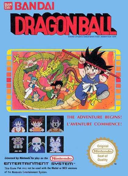 NES Games - Dragonball