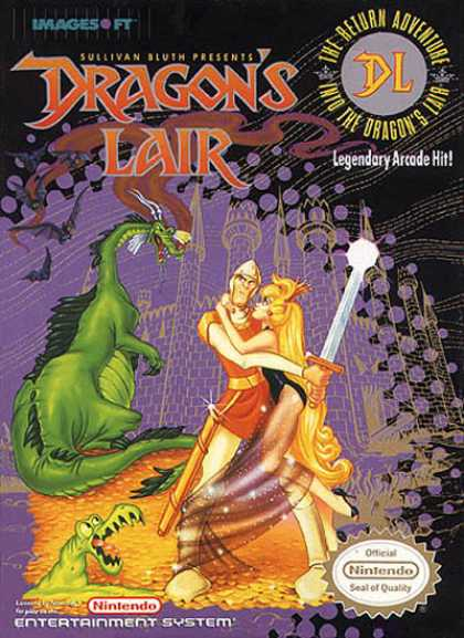 NES Games - Dragon's Lair