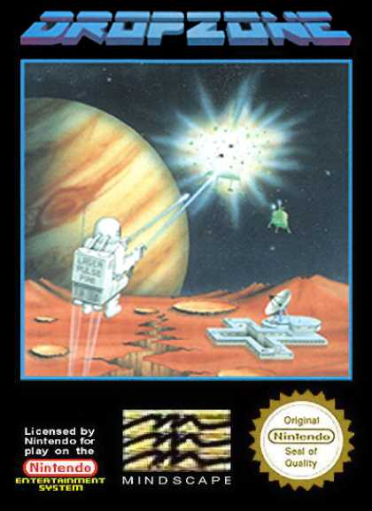 NES Games - Dropzone