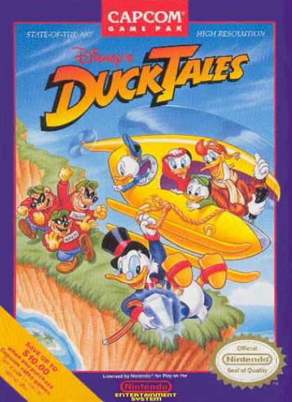 NES Games - Ducktales 1