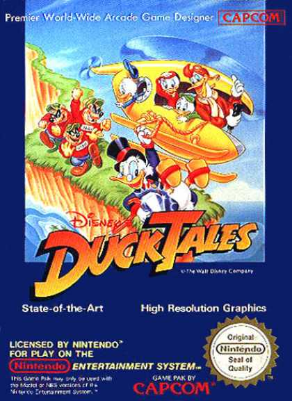 NES Games - Ducktales 1E
