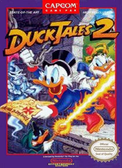 NES Games - Ducktales 2
