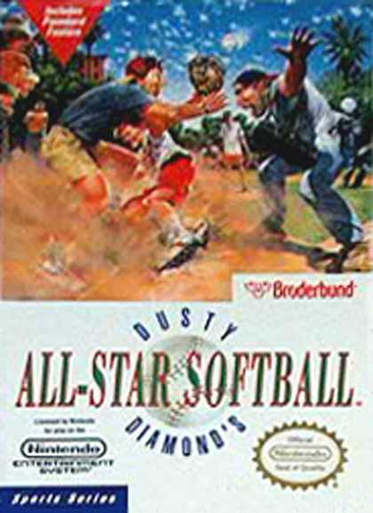 NES Games - Dusty Diamons All Star Softball