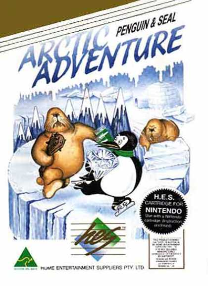 NES Games - Arctic Adventure HES