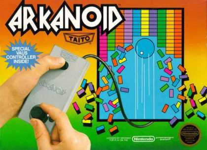 NES Games - Arkanoid
