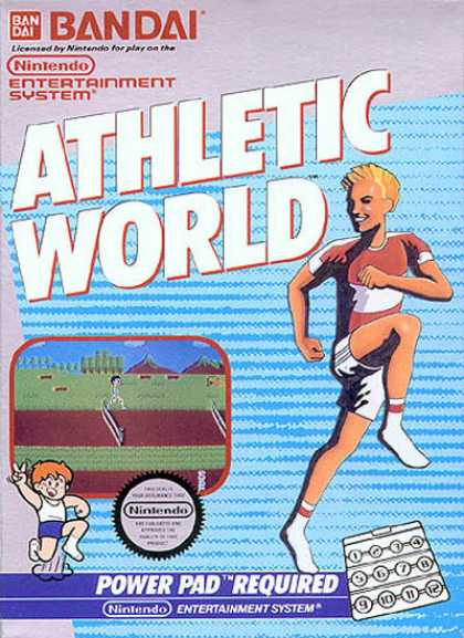 NES Games - Athletic World