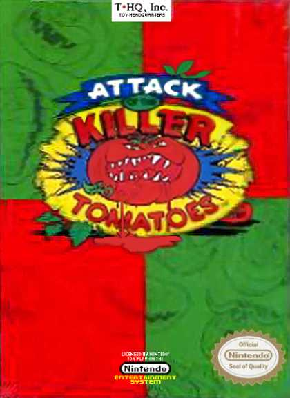 NES Games - Attack of the Killer Tomatoes