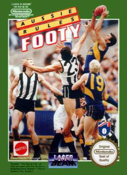 NES Games - Aussie Rules Footy