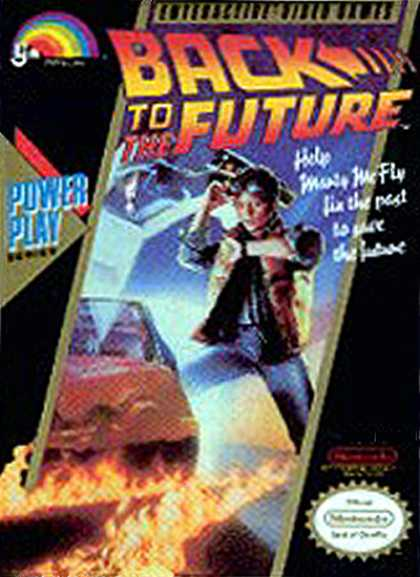 NES Games - Back to the Future 1