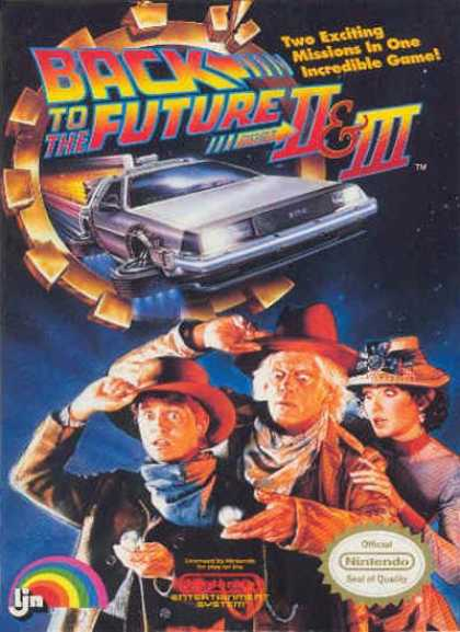 NES Games - Back to the Future 2 & 3