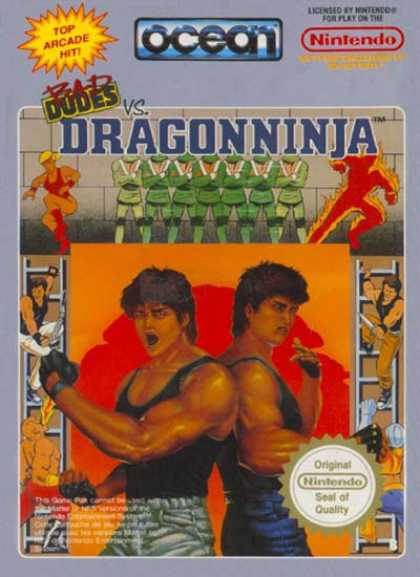 NES Games - Bad Dudes vs Dragon Ninja