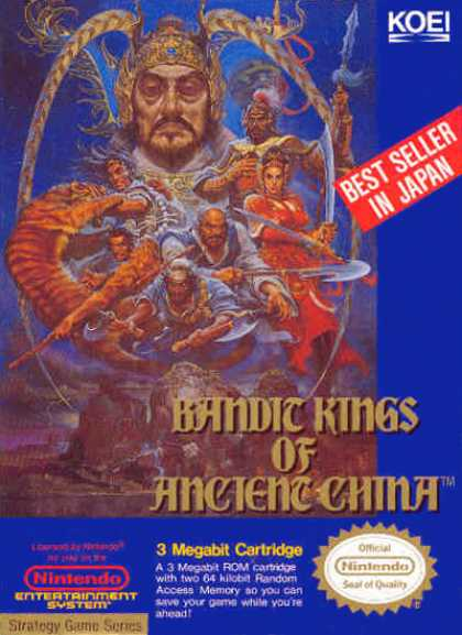 NES Games - Bandit Kings of Ancient China