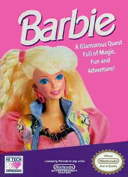 NES Games - Barbie