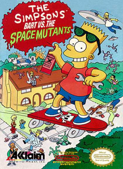 NES Games - Bart vs the Space Mutants