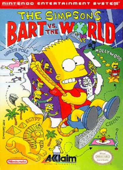NES Games - Bart vs the World