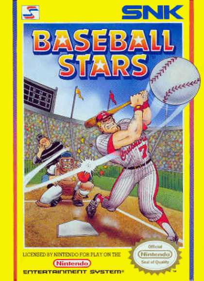 NES Games - Baseball Stars 1