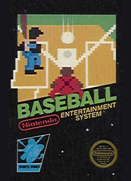 NES Games - Baseball