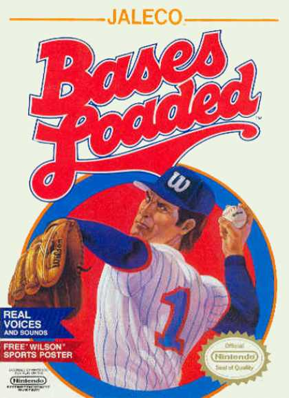 NES Games - Bases Loaded 1