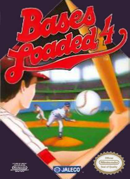 NES Games - Bases Loaded 4
